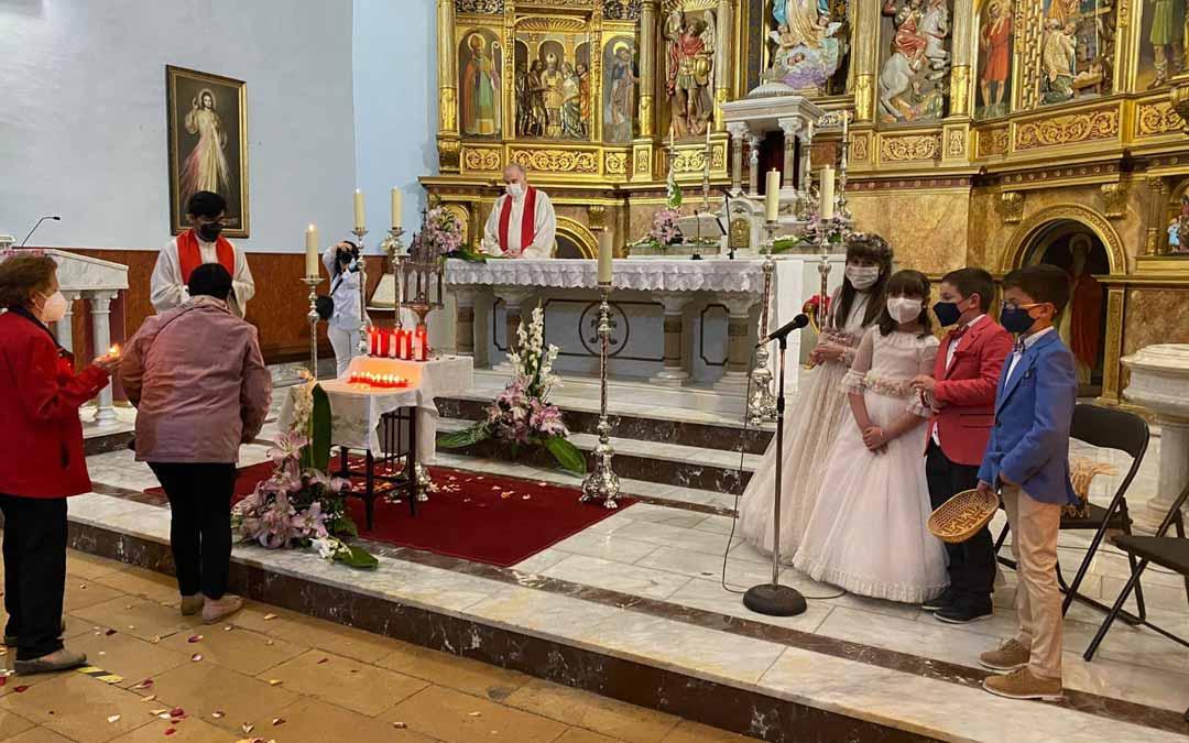 Los calaceitanos han celebrado la eucaristía en honor a la Santa Espina. C.N.