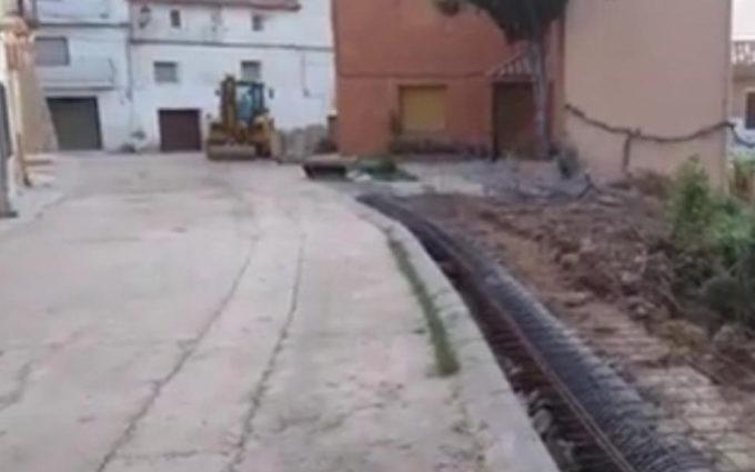 El cubrimiento de una acequia de Cañizar del Olivar desata la polémica vecinal