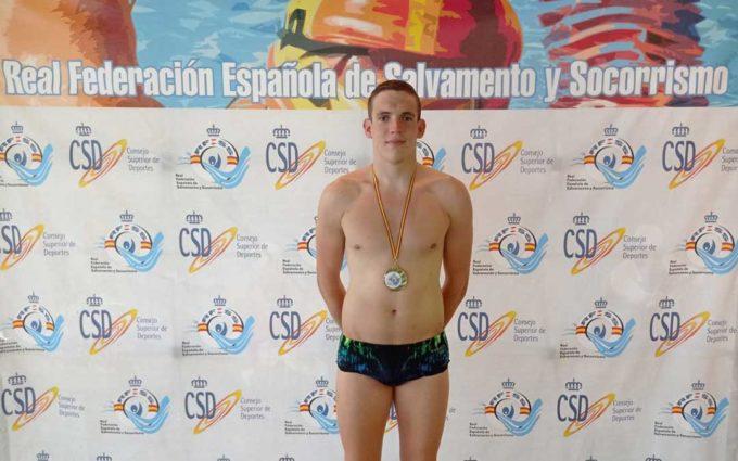 Carlos González se cuelga un oro y un bronce en la cita de Torrevieja