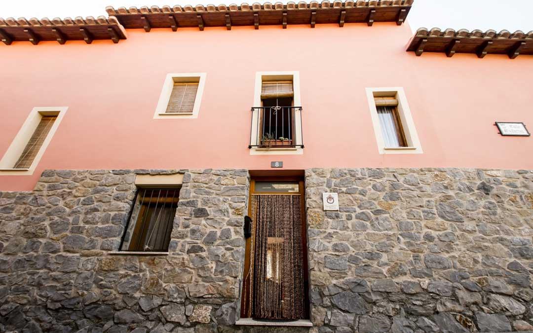 Imagen genérica de un establecimiento de turismo rural en la provincia de Teruel./ L.C.