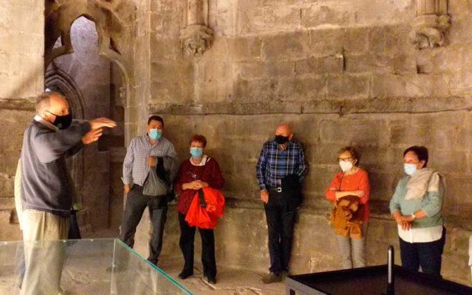 Se retoman las visitas guiadas al castillo de Valderrobres