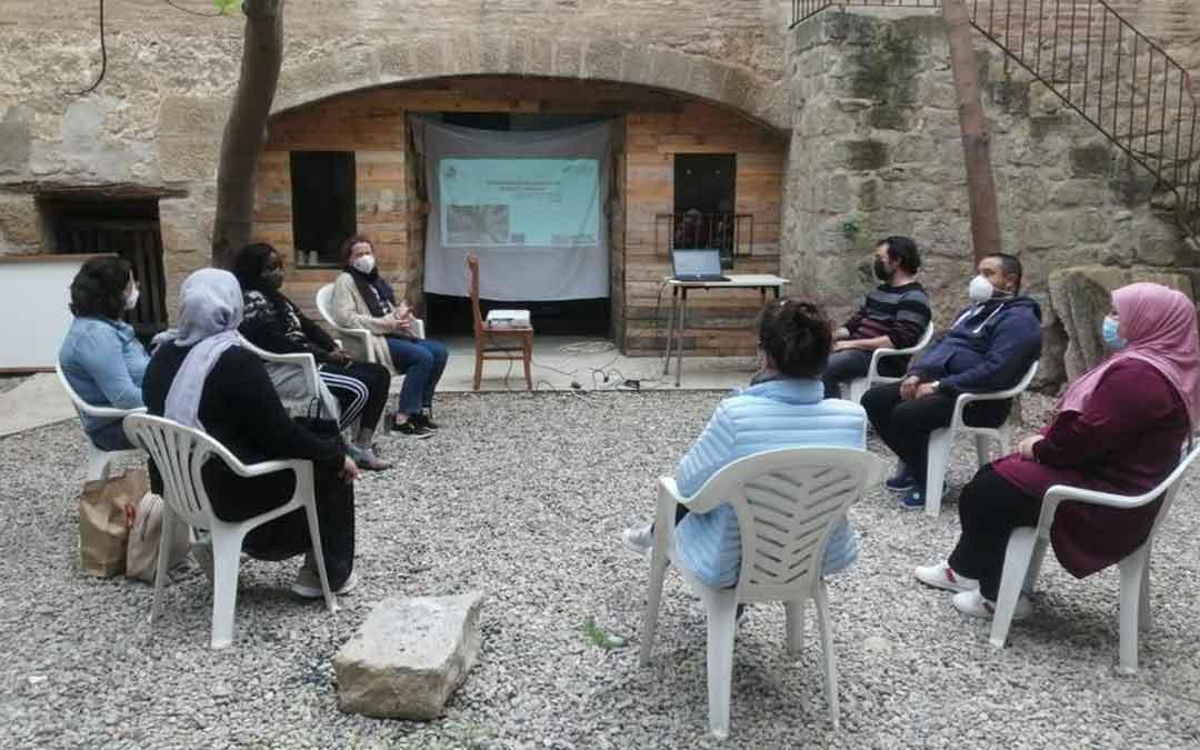 Particpantes del curso realizado por la Comarca del Bajo Aragón Caspe. Foto. Comarca Bajo Aragón Caspe