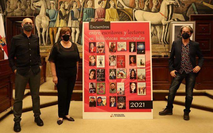 La campaña de animación a la lectura de la DPZ recorrerá las bibliotecas de 50 municipios de la mano de 14 autores aragoneses