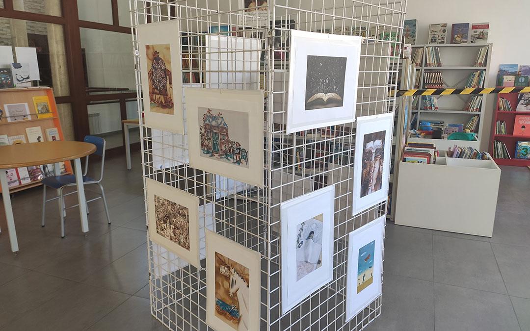 Exposición de láminas ilustradas en la biblioteca de Andorra. / AYTO. ANDORRA