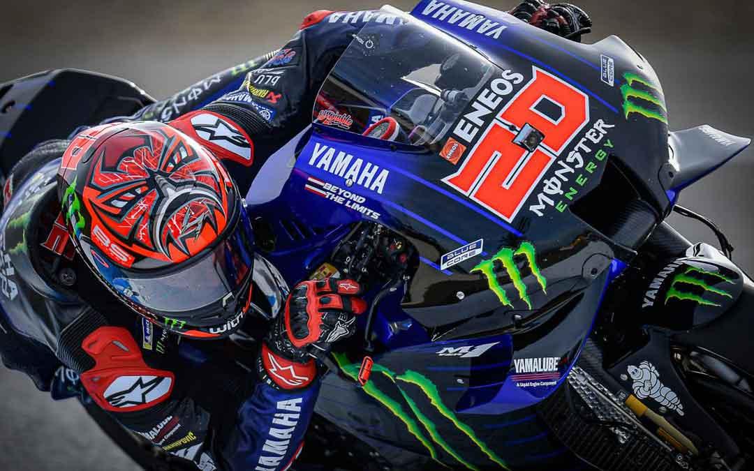 El francés Quartararo ha logrado la pole en MotoGP en Jerez. Foto: MotoGP