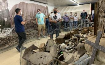 Fayón celebra el Día Internacional de los Museos con visitas «vivientes» por la Batalla del Ebro