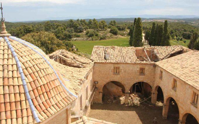 Denuncian el mal estado del Santuario de Monserrate de Fórnoles coincidiendo con el quinto centenario de su romería