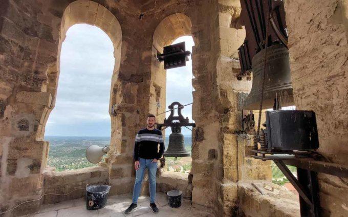 El campanario de La Fresneda será visitable en junio
