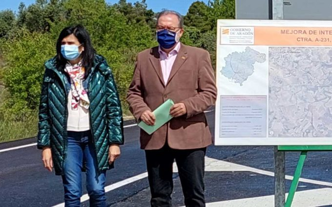 """Fuster: """"Desde el Gobierno de Aragón pensamos que el peaje propuesto en autovías y carreteras es injusto"""""""