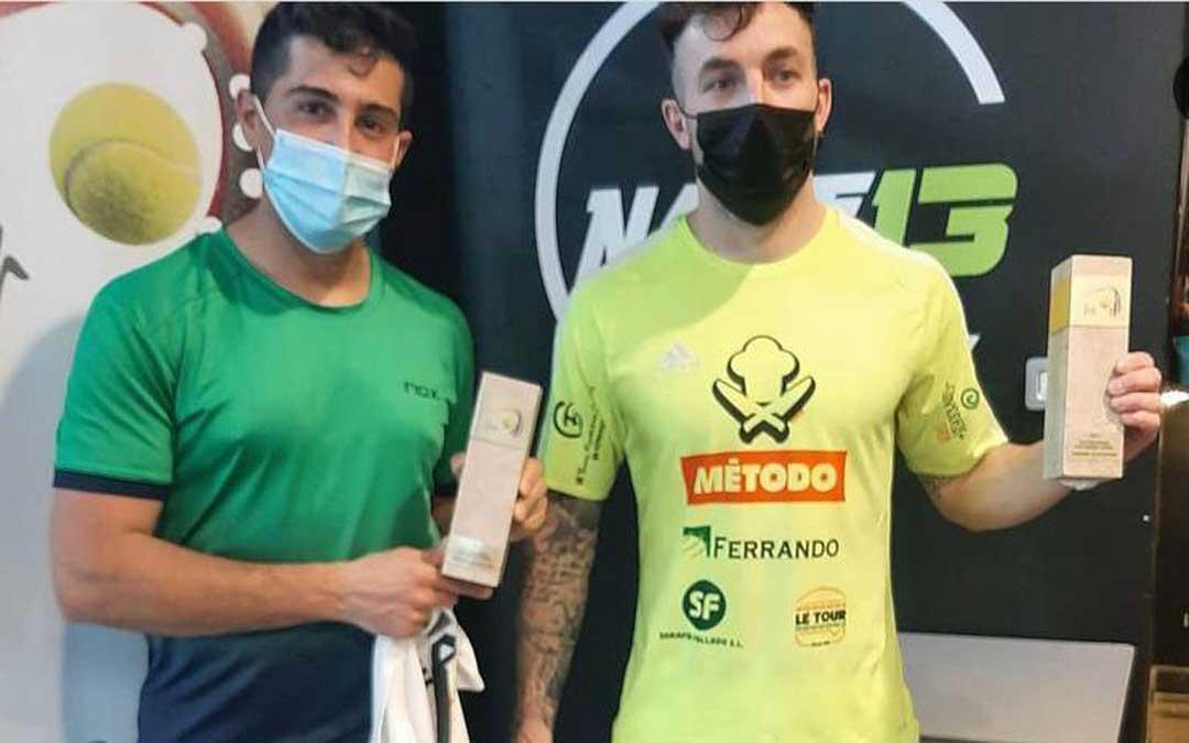 la pareja Francisco Reyes y Jorge Guillén de Teruel se alzó con el triunfo en la catergoría masculina / Nave 13 Sport