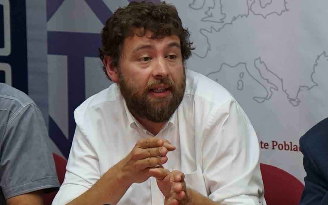 José Antonio Guillén, vicepresidente de Cepyme Teruel. /L. C.