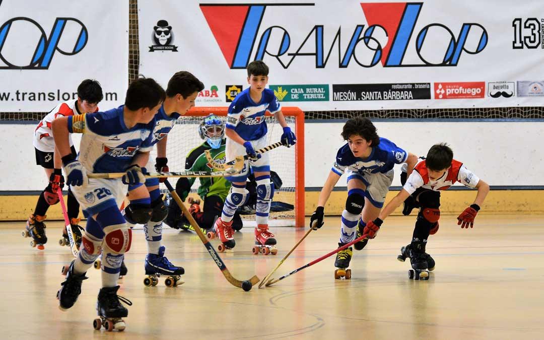 El torneo de hockey patines se celebró durante el fin de semana en Alcañiz. Foto: L.C.