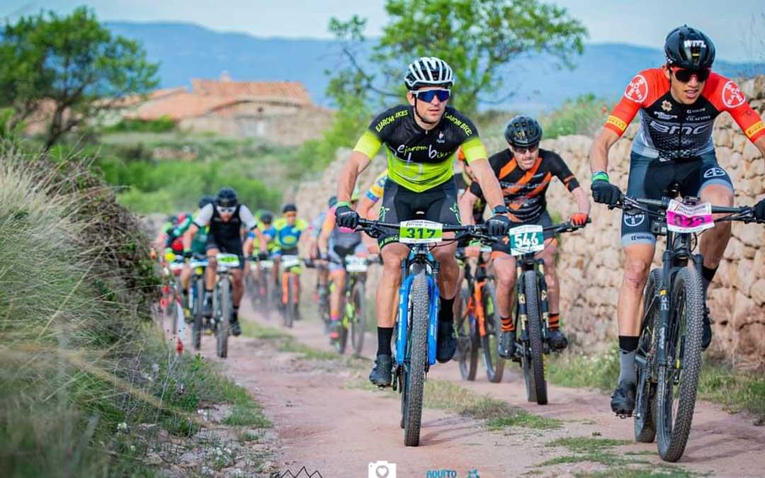 Iván Romero con el dorsal 317 en plena competición. Foto. R. D.