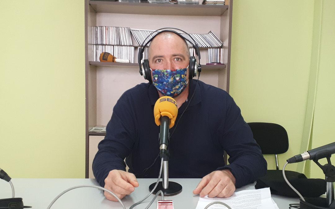 Jesús Cirac, miembro del equipo comunitario del plan de convivencia en la diversidad cultural. Foto: J.V.