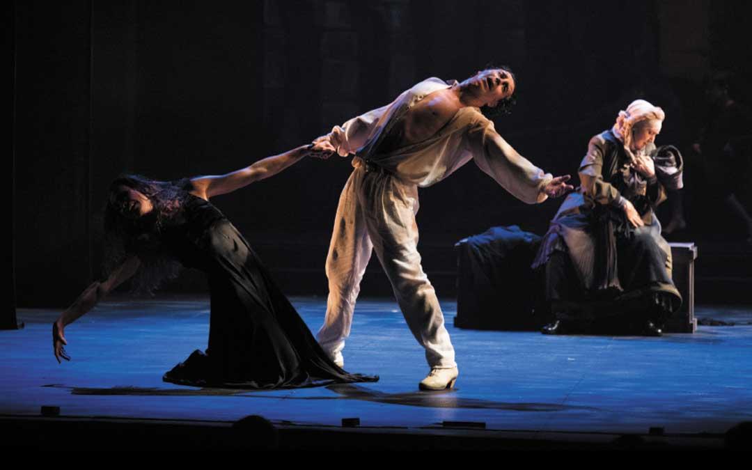 La 'Medea' encabezada por Antonio Márquez en el papel de Jasón está basada en la mundialmente reconocida coreografía de José Granero / Ayto. Alcañiz