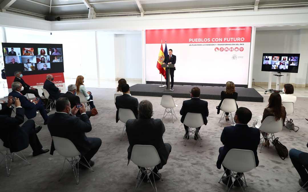 Presentación del plan por parte del presidente del Gobierno / Pool Moncloa