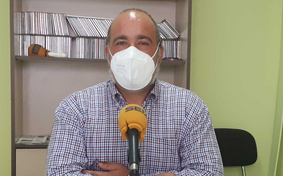Rafael Guardia concejal de medio ambiente del Ayto. de Caspe. Foto: J.V.
