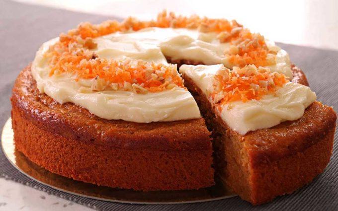 Bizcocho de zanahoria o Carrot Cake
