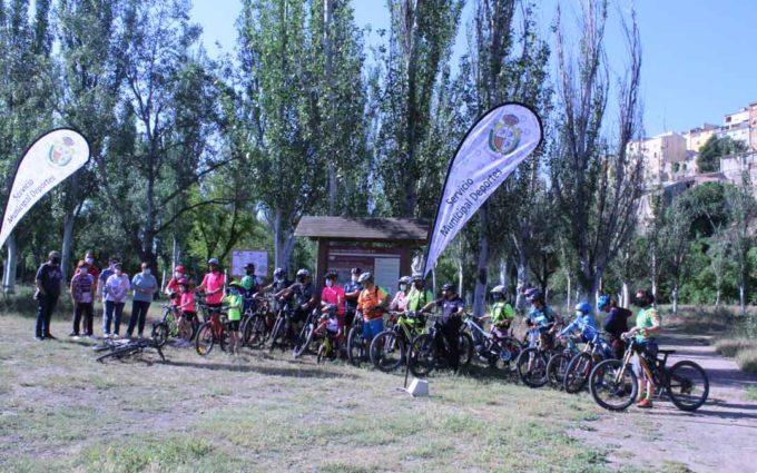 Caspe presenta sus tres rutas BTT para potenciar el turismo deportivo y de naturaleza