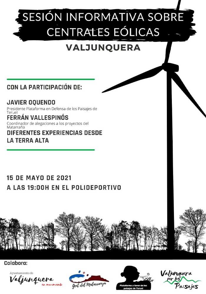 Sesión informativa sobre centrales eólicas