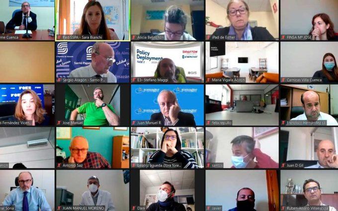 Cerca de trescientos empresarios de Cuenca, Soria y Teruel recaban información sobre las ayudas de funcionamiento
