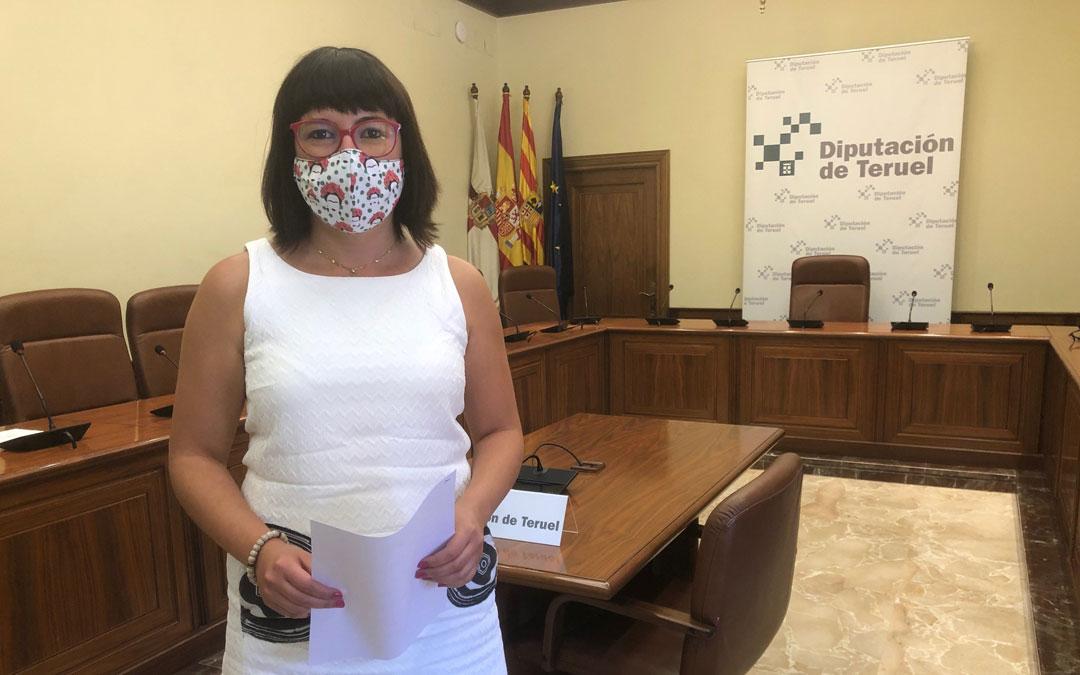 Susana Traver, diputada provincial. / DPT