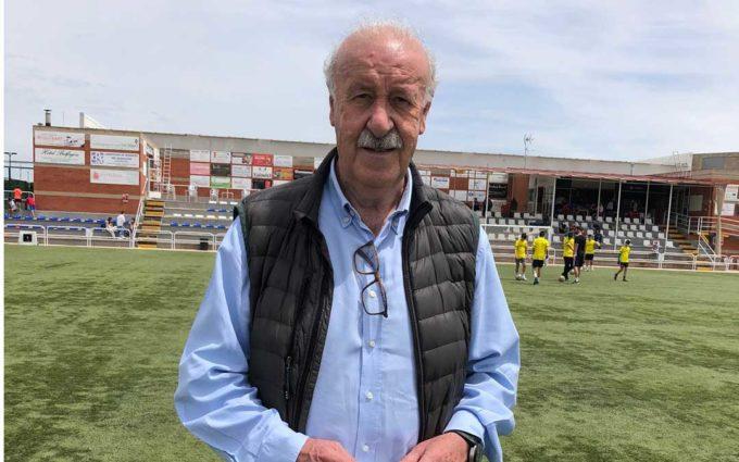 Vicente del Bosque: «En nuestros campus fomentamos el deporte y valores como la tolerancia»