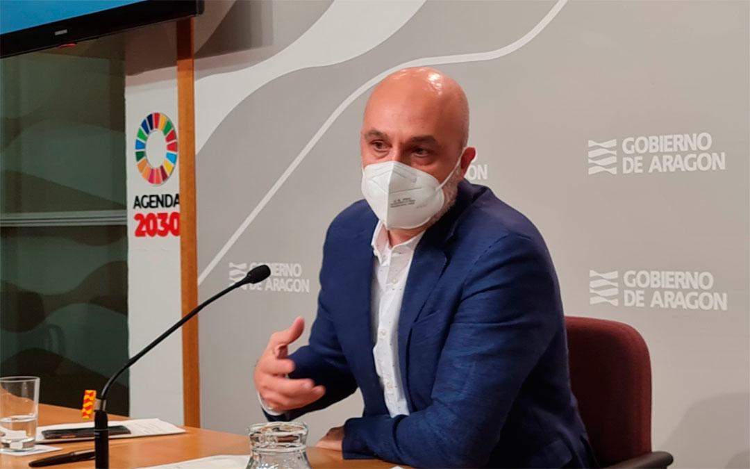 Víctor Lucea, el director general de Cultura del Gobierno de Aragón./ DGA