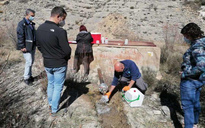 Villarroya solicita declarar un manantial como agua mineral para a largo plazo instalar una embotelladora