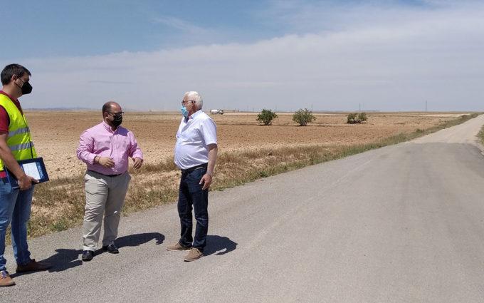 La DPT comenzará en junio la última fase del arreglo de la carretera TE-V-1703 de Vinaceite
