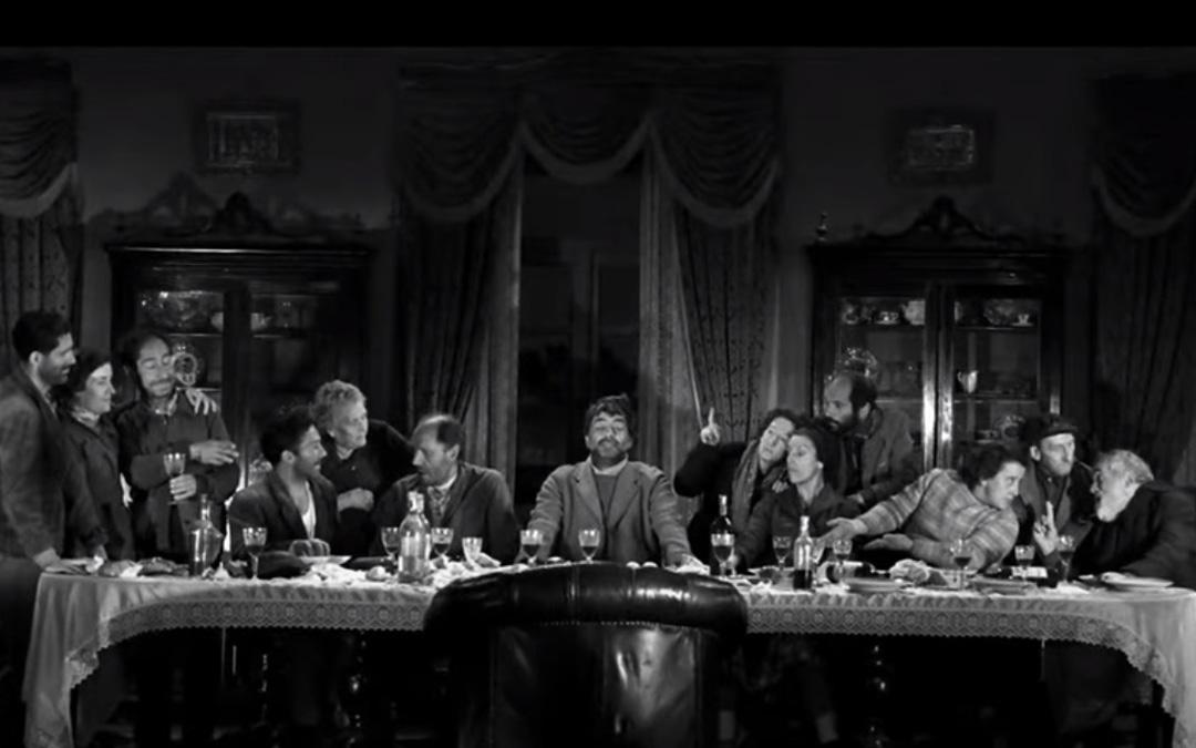 Una de las icónicas imágenes de 'Viridiana' que sigue siendo la única película española en ganar la Palma de Oro de Cannes donde estrenó el 17 de mayo de 1961. / L.C.