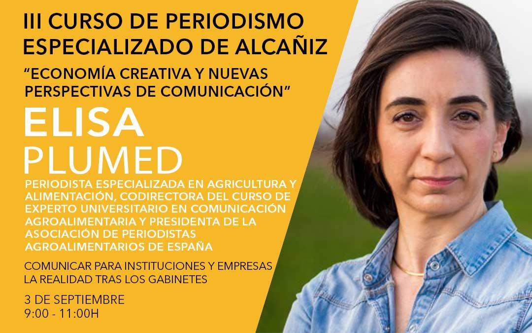 Elisa Plumed, presidenta de la APAE./ L.C.