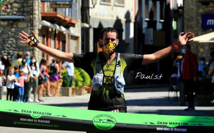 Carlos Jávega vence en la Gran Maratón Montañas de Benasque en la modalidad 19 K