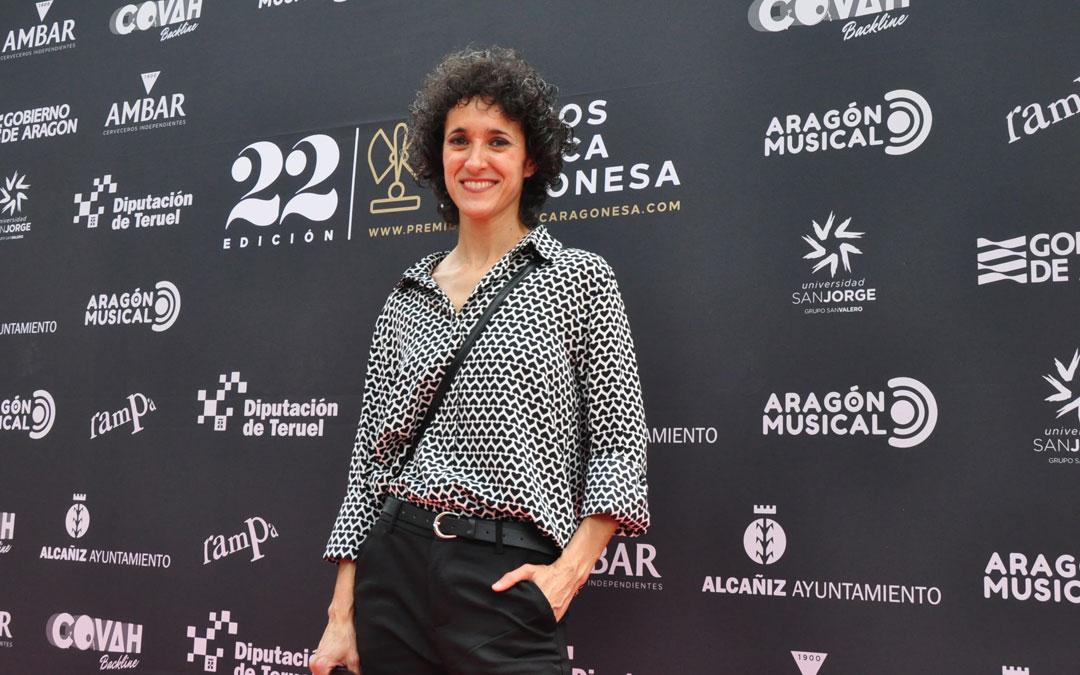 La alcañizana Lydia Vera ha sido una de las nominadas en la categoría Mejor Directo Confinado. J.L.