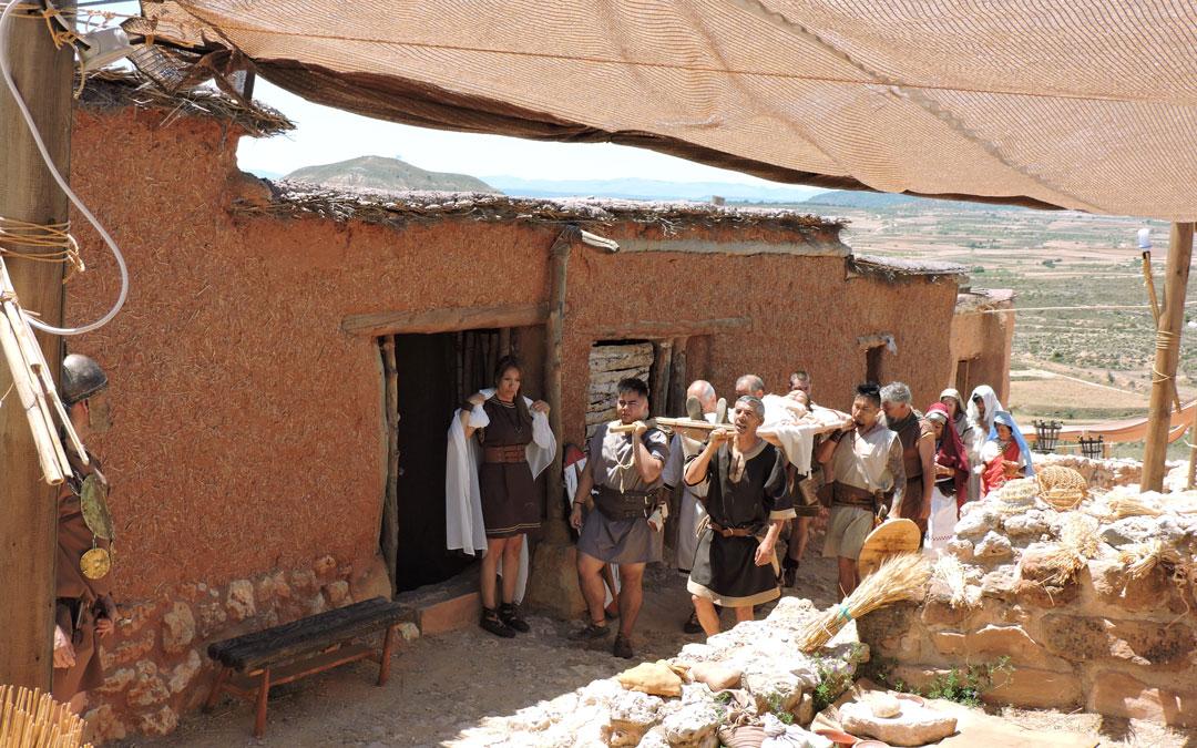 Visitas guiadas y recreaciones teatralizadas en las Jornadas de Cultura Íbera de Andorra