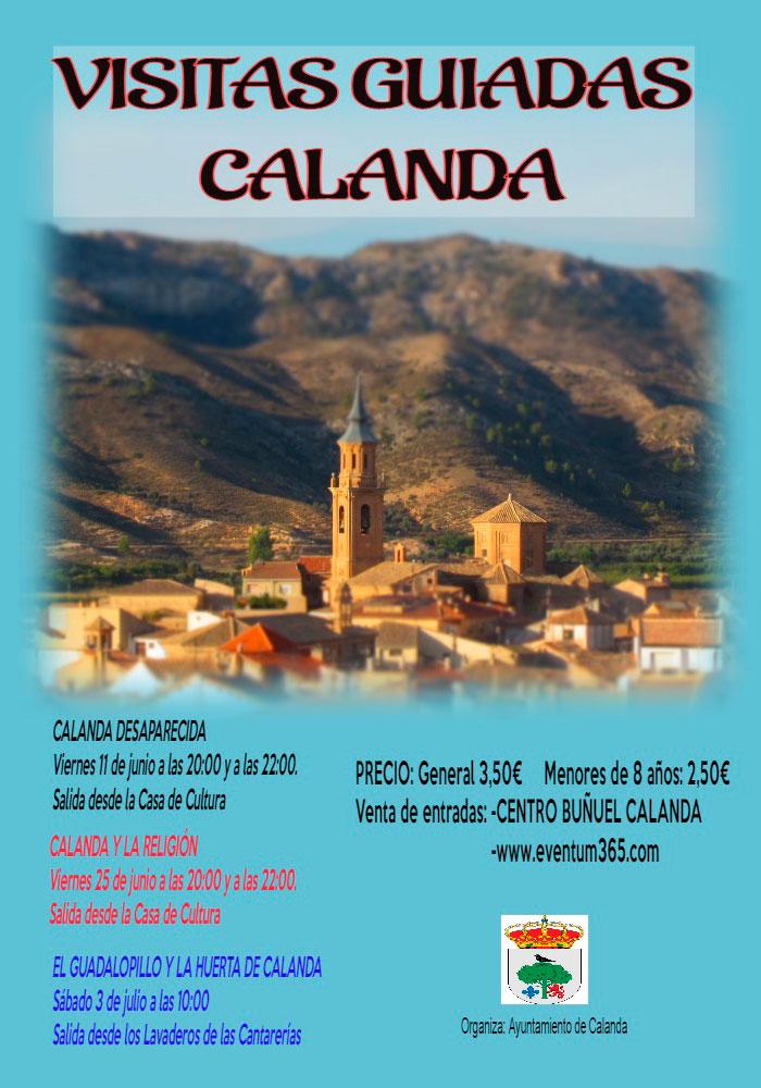 Visitas turísticas temáticas en Calanda