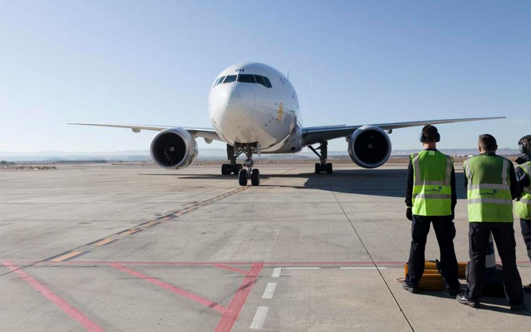 Imagen de archivo del aeropuerto de Zaragoza./ Heraldo