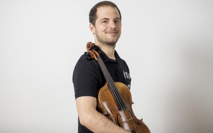 Carlos Vallés García, un músico alcañizano en tierras suizas