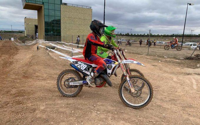 Campano y Fernández, vencedores de las carreras Élite de Motocross en Motorland