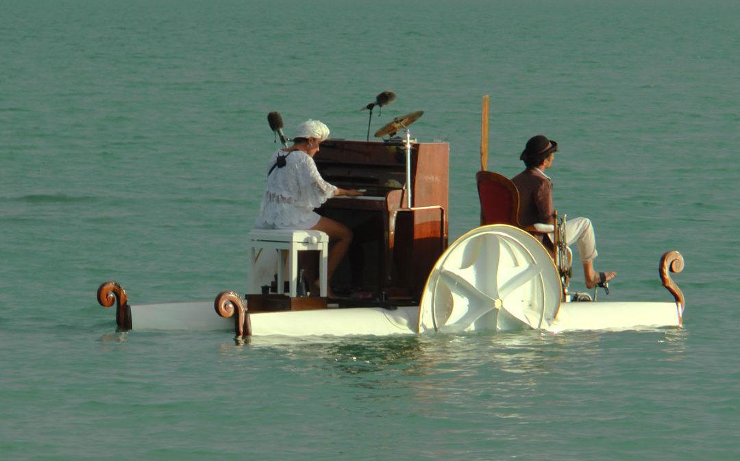 'Le PianO du Lac' inicia en La Estanca su gira nacional para presentar su nuevo espectáculo