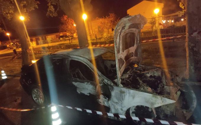 Se incendia el coche del vecino de Andorra que asesinó a su hijo, hirió a su mujer y se suicidó en 2019
