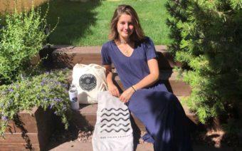 La joven alcañizana Antía Zilbeti gana un premio con una empresa creada en el instituto