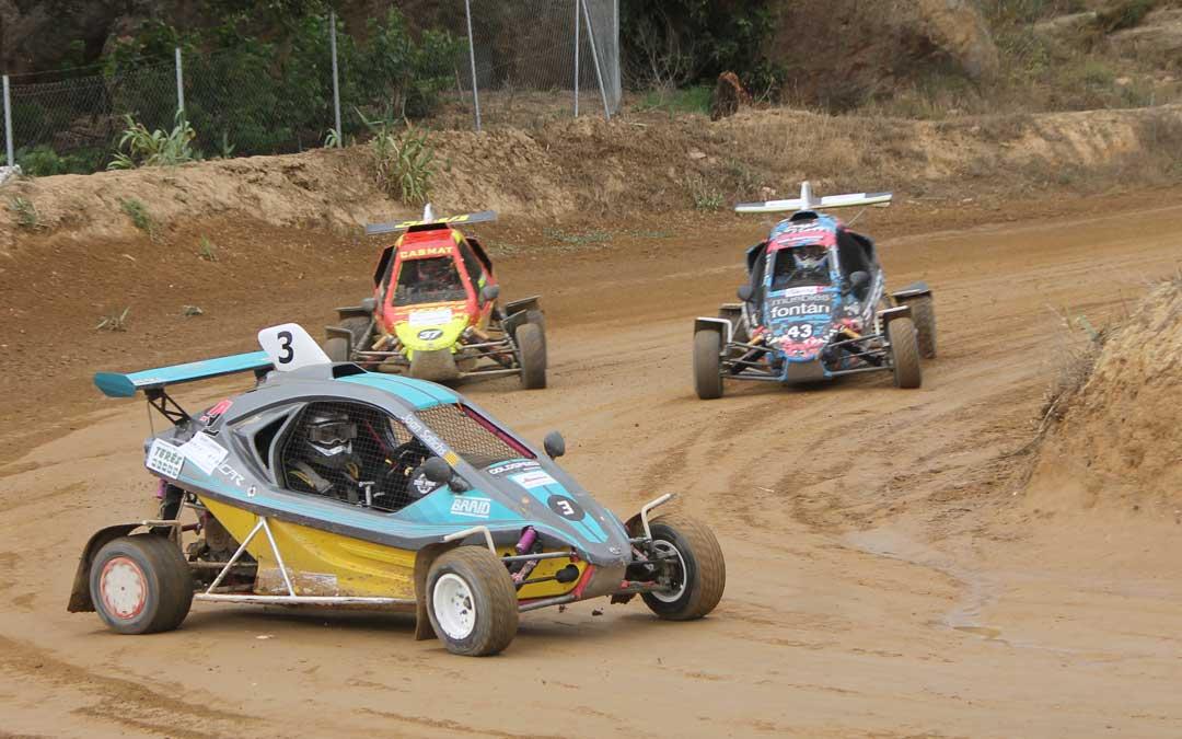 La tercera cita del regional de autocross se disputó en Esplús. Foto. FADA