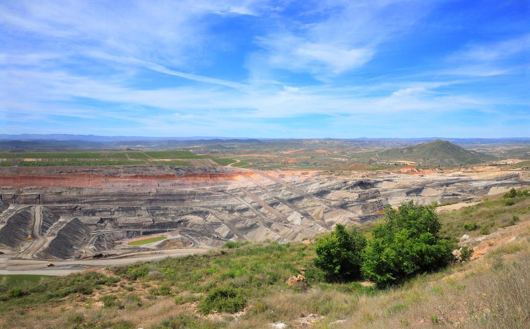 mina maria mirador sierra de arcos ariño