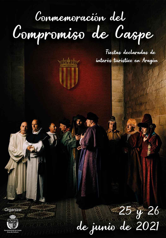 Cartel de la XXIII Conmemoración del Compromiso de Caspe./ Ayto. de Caspe