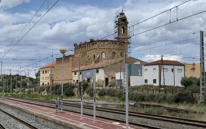 El Ayuntamiento de Caspe defiende la consolidación urgente del Convento de Santo Domingo ante las quejas de los animalistas