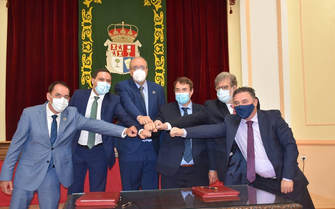 El convenio ha sido firmado en la Diputación Provincial de Cuenca./DPT