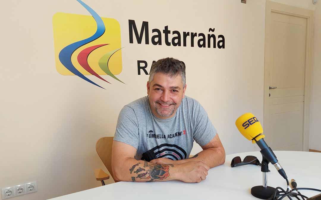 Cristian Yáñez en Matarraña Radio.