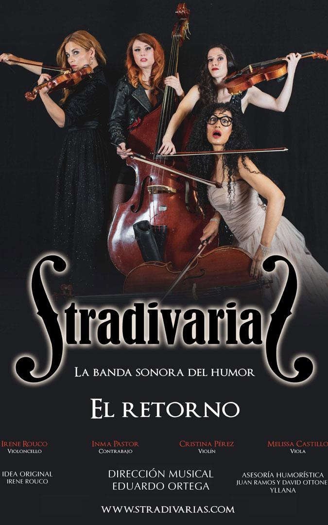 Cartel de 'Stradivarias. El retorno'. / L.C.