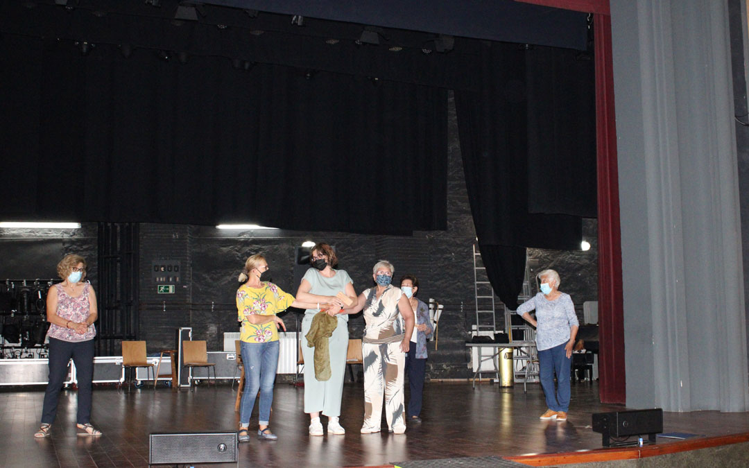 Los ensayos de las farsas y del acto central se han desarrollado en el Teatro Goya / Fuente: Pilar Sariñena